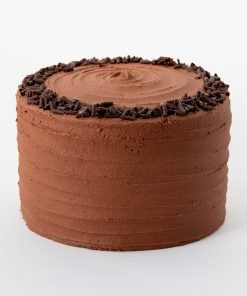 chocolate cake met chocolate frosting